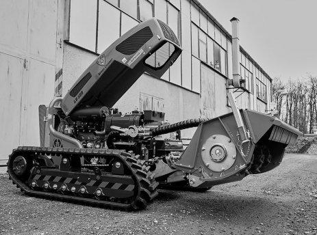Dálkově ovládané stroje