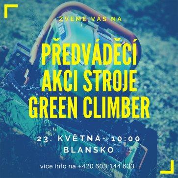 Předvádíme Green Climber!