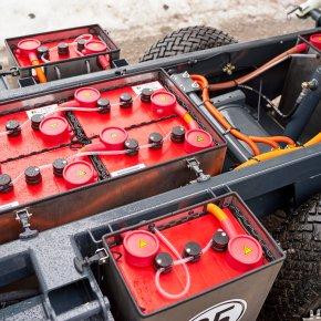 Výdrž baterií na celosměnný provoz