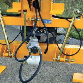 Olejová nádrž integrovaná v rámu