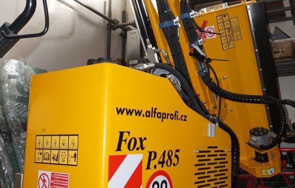 Mulčovací rameno FRONTONI FOX PROFI 485