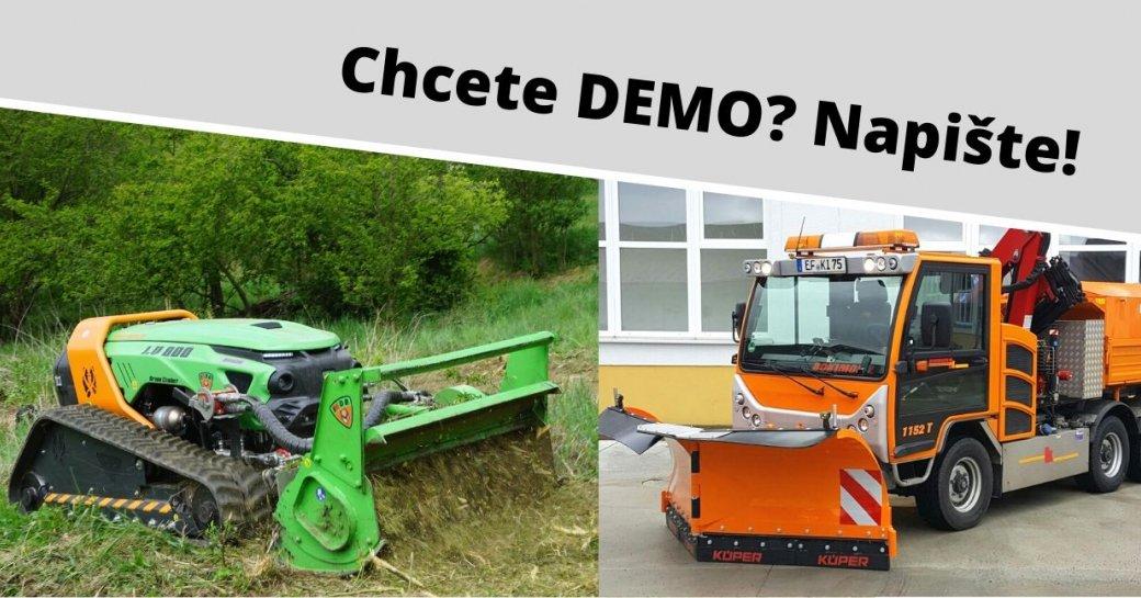 Zajímá Vás, jak pracují naše stroje v terénu?